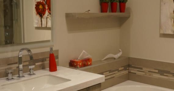 Réalisation Salle de bains - Design Marc Chantal